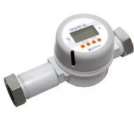 Grand SPI gas meter with telemetry system and shutoff valve